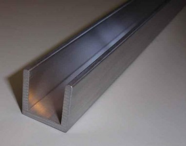 Алюминиевый металлопрокат Швеллер алюминиевый