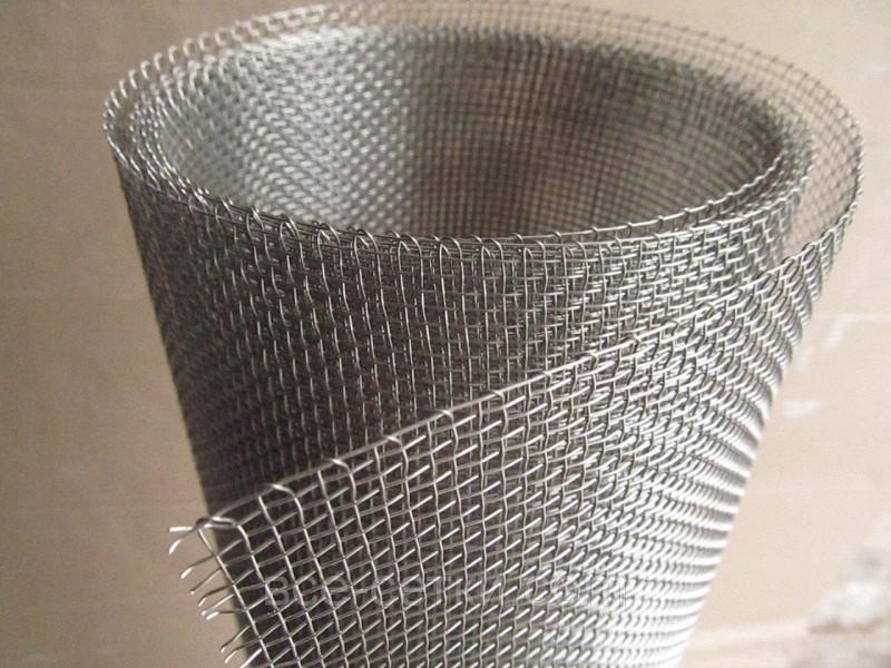 Нержавеющий металлопрокат Сетка нержавеющая тканая