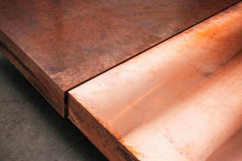 Медный металлопрокат Плита медная